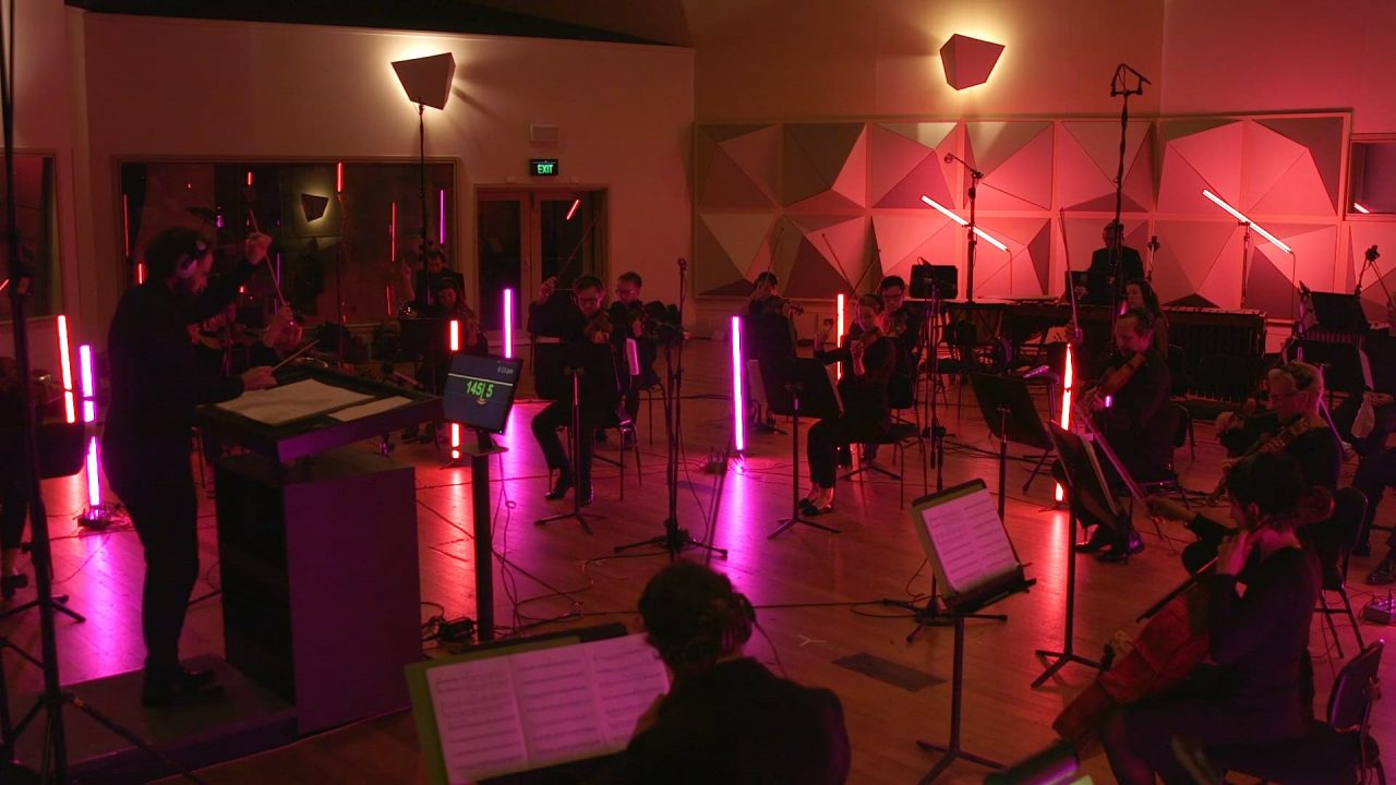 Recent Orchestral Recording Sessions